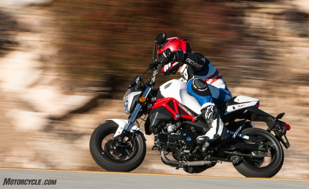 """The Razkull feels much closer to a Grom and Z125 than its paltry MSRP would indicate,"" says Kevin."