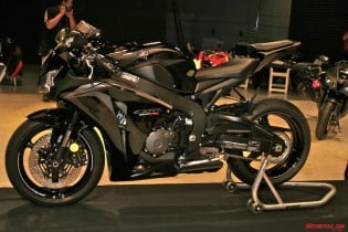 """This is the limited-edition Black/Metallic Grey for 2008 that will see a run of """"less than 500"""" units. Cost for the scheme is only $200 more than the $11,599 standard colors."""
