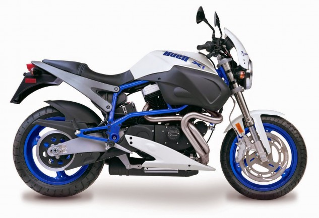 I lobbied to get the '97 Buell White Lightning in this list but was denied. Anyway, it beat the Speed Triple in a '97 MO comparo.