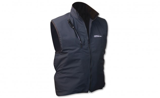 Aerostich's latest Kanetsu Airvantage has an inflatable deal to push the heating elements closer to your body without the vest needing to be so snug. Aerostich says it feels like a soft warm hug, which if true probably makes it worth $247.