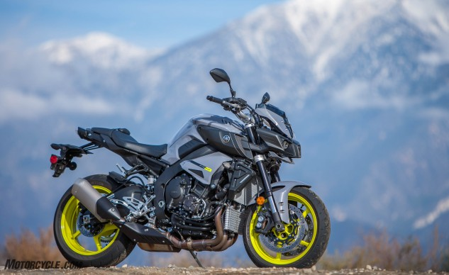 It may resemble Optimus Prime's illegitimate offspring, but we like the FZ's transformer styling. The FZ-10 is the epitome of what a 20-year-old's artist rendition of a motorcycle would probably look like.