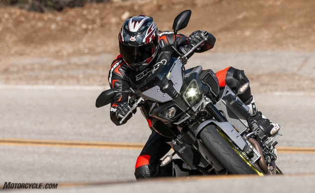 With the FZ-10 Yamaha seems to have nailed the perfect combination of streetable comfort and performance for a reasonable price in a visually arresting package.