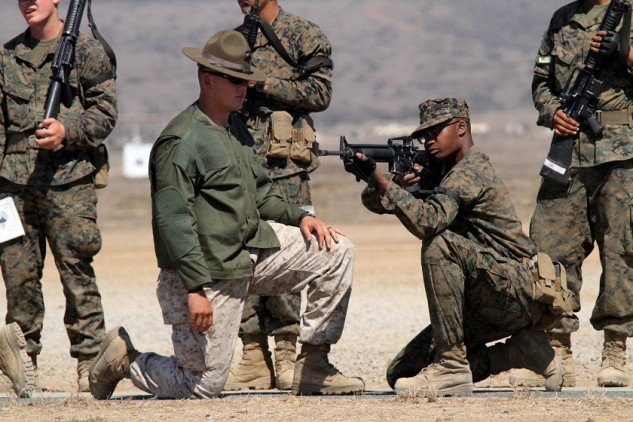 Learning to shoot the right way… but it's not the only right way. U.S. Marine Corps photo by Lance Cpl. Bridget Keane.