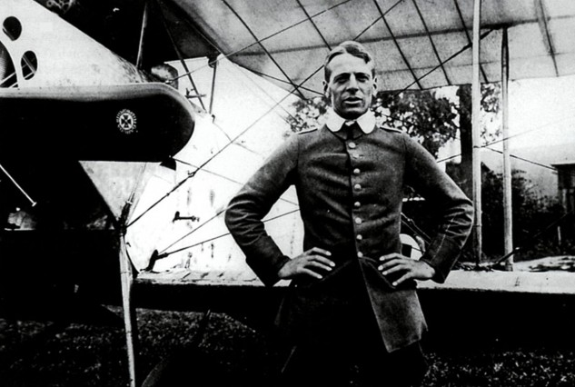 Oswald Boelcke established his place in history in a Fokker, but he favored an NSU motorcycle for his more earthly pursuits.