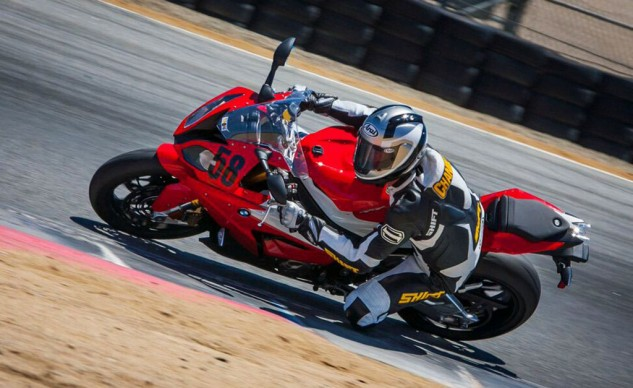 Ex-500 GP pilot and three-time AMA Superbike champ Doug Chandler helped us get a handle on the 2015 superbike crop at Laguna Seca. He liked the 183-horsepower BMW best.
