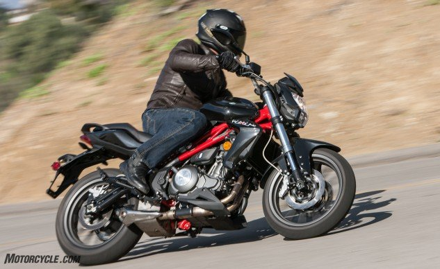 There's no denying the TnT is a substantially heavier motorcycle, especially when hustling the two back-to-back in the canyons. However, the Benelli is far from taxing and holds its own just fine.