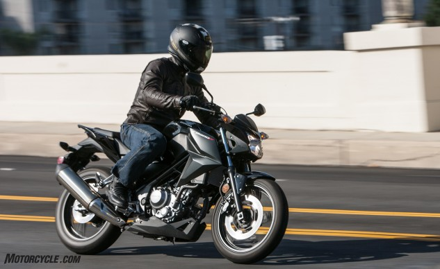 You know a motorcycle is good when all we can criticize it for is its milquetoast exhaust note. We can't fault anyone for choosing the well-engineered CB300F.