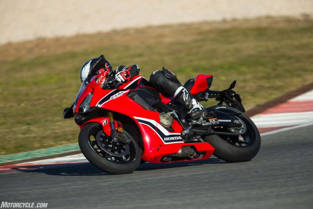 Honda has long made inspiring chassis, and the new CBR1000RR carries on that tradition. It made refamiliarizing myself with a track I hadn't seen in several years that much easier.
