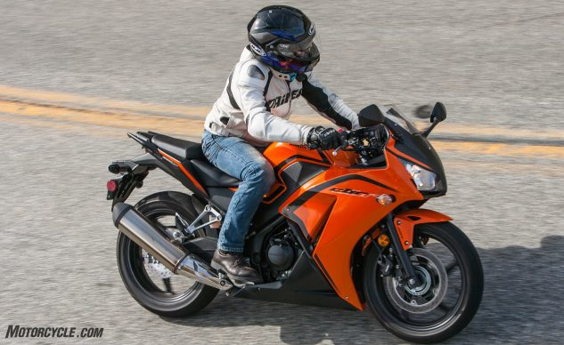 Compared To The Hyosung Cbr300r Isn T Quite As Nimble But It S