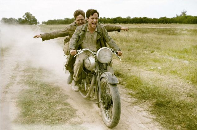 The Motorcycle Diaries is a pretty fun film about a couple of guys whose clapped-out Norton causes them to become Commies.