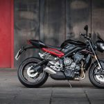 2017 Triumph Street Triple r low ride height version