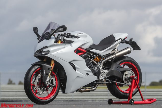 2017 Ducati Supersport with pipe