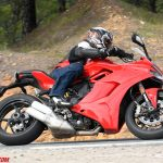 2017 Ducati Supersport street action