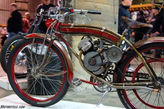 1948 Whizzer, the moped-making bicycle adaptor kit.