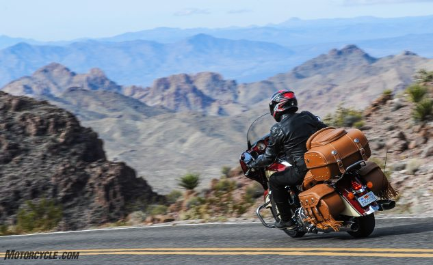 2017 Indian Roadmaster Classic action