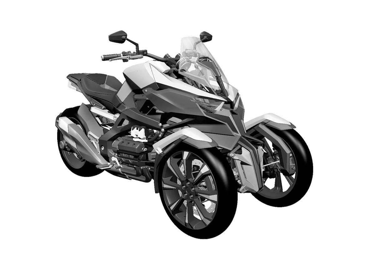 Honda Neowing Concept At The 2017 Tokyo Motor Show Wedge Shaped Structure Under Seat Looks Like It May Hide A Radiator
