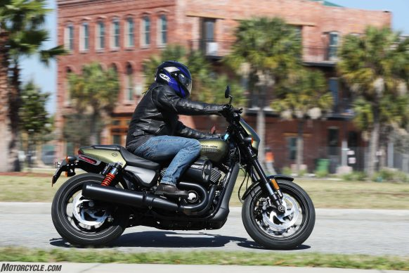 2017 Harley-Davidson Street Rod action