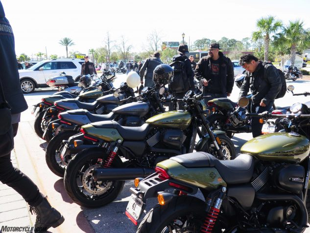 The U.S. motojournalist corps swings into action.