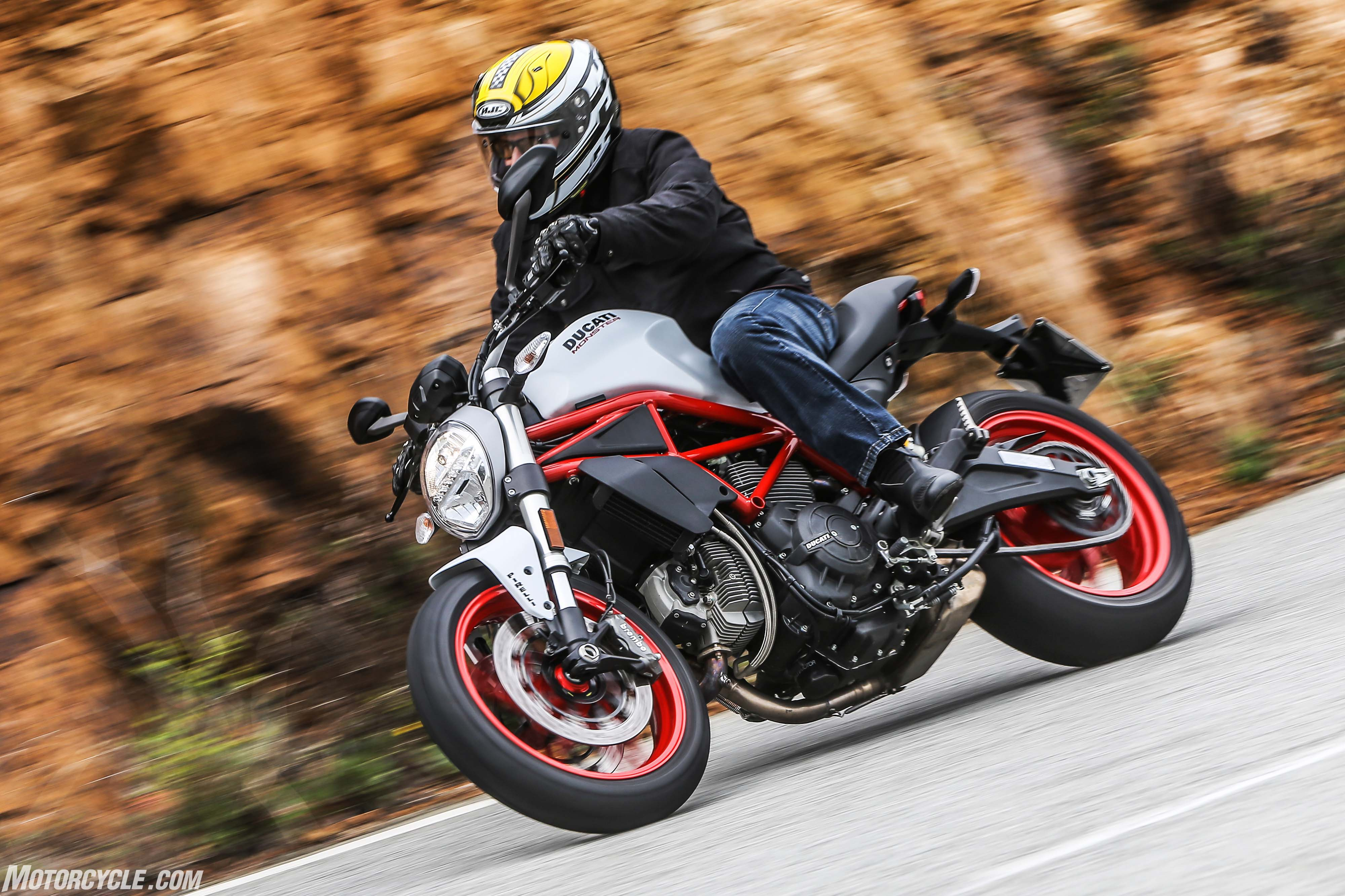2017 Ducati Monster 797 Review First Ride