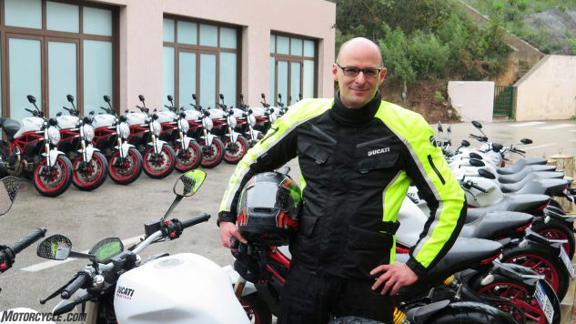 Eugenio Gherardi was project manager of the 797 – a nice change of pace from the Superleggera and XDiavel he did before it. Or is it? The Monsters are super important motorcycles for Ducati.