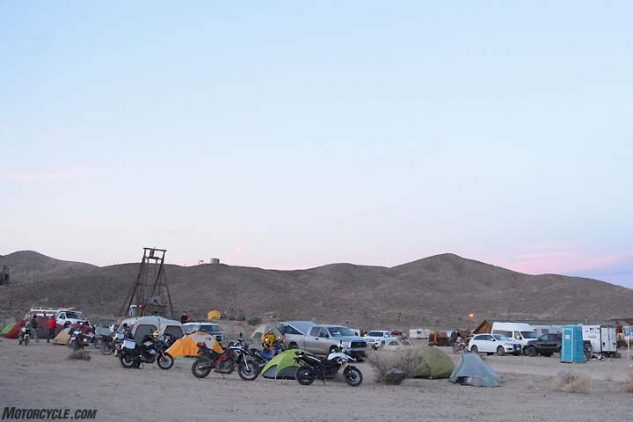 Gold Point, Nevada, was the location of the 2017 Taste of Dakar event. The town has a population of just five residents!
