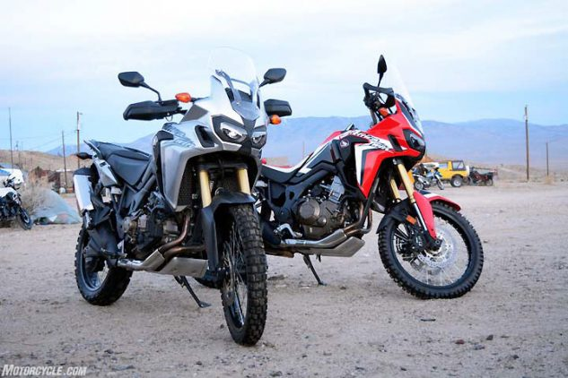 Ever wondered which Africa Twin is better, the one with the dual-clutch tranny or the old-school manual? We did, too. Stay tuned to discover our findings.