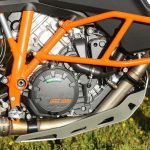 2017 KTM 1090 Adventure R engine and trellis frame