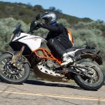 2017 KTM 1090 Adventure on paved road