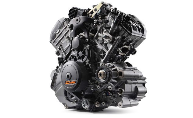 2017 KTM 1290 Super Adventure R engine