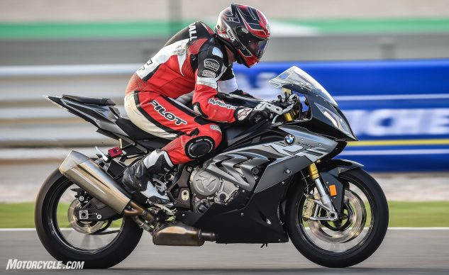 BMW S1000RR with Michelin Power RS Tires