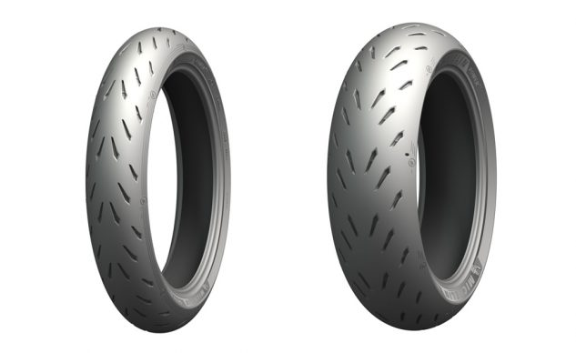 Michelin Power RS tire grooves and siping