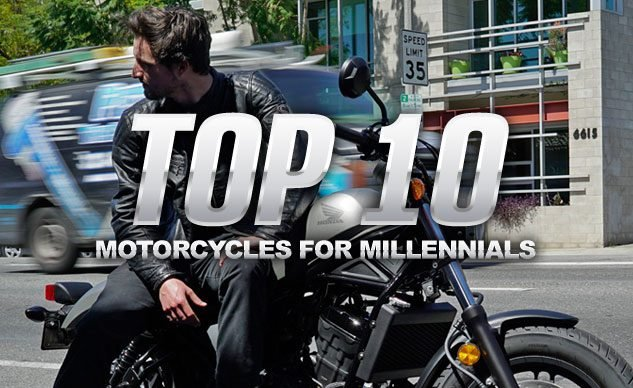 The Best Motorcycles for Millennials