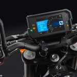 2017 KTM 390 Duke digital screen