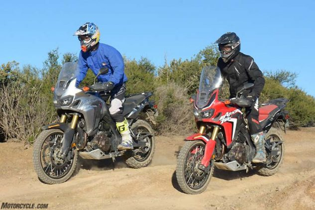 2017 Honda Africa Twin DCT vs Manual