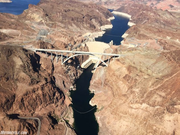 EagleRider tours Hoover dam