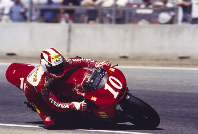 "Chandler started racing the 500cc Grand Prix World Championships (now known as MotoGP) in '94. ""To me it was no choice; I'd been on the superbike, and I thought: I've got to try it."""
