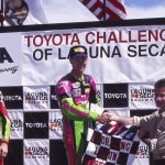 Doug Chandler Laguan Seca podium