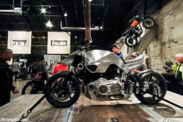 Handbuilt Motorcycle Show rebuilt Confederate by Revival Cycles