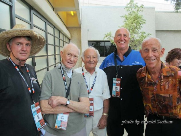 Dale Roll, Dick Mann, Kel Carruthers, Howie Zechner and Malcolm Smith.
