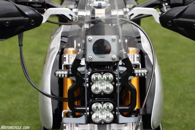 We have seen the future of motorcycle lighting, and it is LEDs.