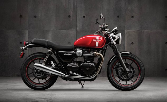 Here's one of the ways Triumph answered the question of how to reinvent a classic model that meets modern noise and emissions regulations. I'd like to see Yamaha attempt the same strategy with one of its classics.