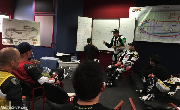 Fastrack Riders University classroom lessons