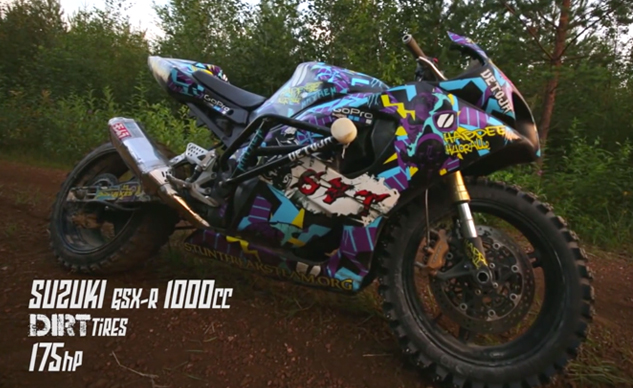 Check Out This Insane Suzuki GSX-R1000 Off-road Set-up