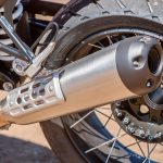 2018 BMW R nineT Urban G/S Review muffler