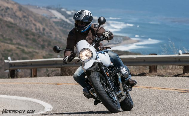 2018 BMW R nineT Urban G/S Review action