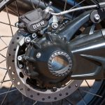 2018 BMW R nineT Urban G/S Review rear brake