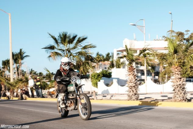 Rally Day 5: Leaving La Paz on the home stretch.