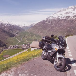 european motorcycle trip