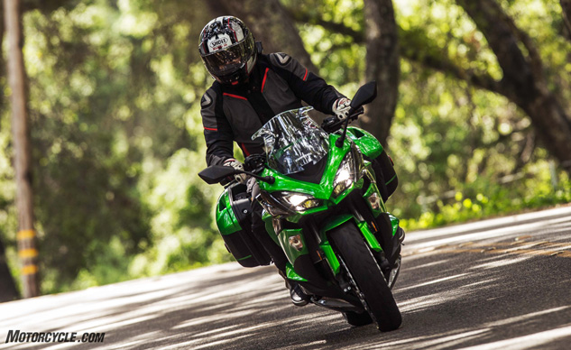 2017 Kawasaki Ninja 1000 Video Review Motorcyclecom
