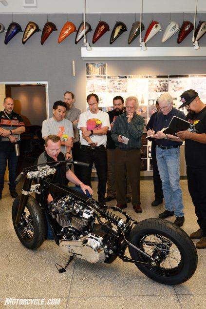 How important is the new Softail to Harley-Davidson? For the first time since the PDC was opened in 1997, journalists were allowed into the Styling and Design Studio.